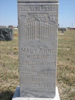 Mary Anne <i>Jinkins</i> Carnahan