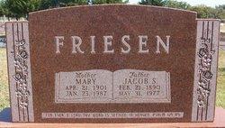 Mary <i>Unruh</i> Friesen