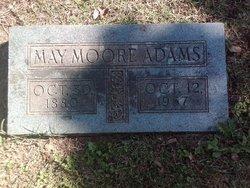 May <i>Moore</i> Adams