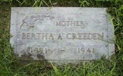 Bertha A. Creeden