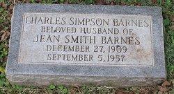Charles Simpson Barnes