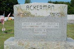 Mary J <i>MacDougall</i> Ackerman