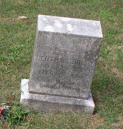 Bertha S Boley