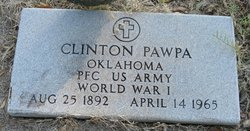 PFC Clinton Pawpa