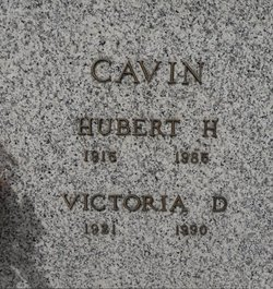 Victoria <i>Dillow</i> Cavin
