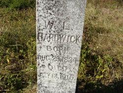 Pvt William Leonard Hardwick