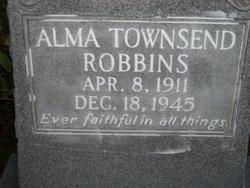 Alma Eugenia <i>Townsend</i> Robbins
