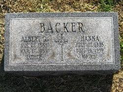 Hanna <i>Hacker</i> Backer