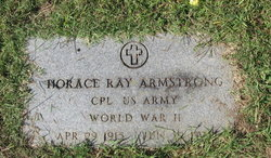 Horace Ray Armstrong