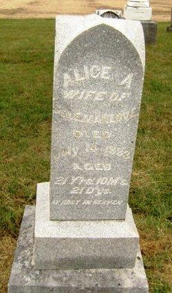 Alice A Manlove