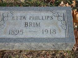 Annice Etta <i>Phillips</i> Brim