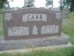 Priscilla S <i>Sheeks</i> Carr