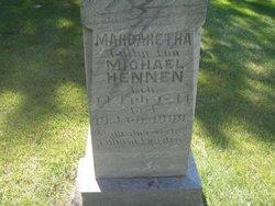 Margaretha C <i>Schmidt</i> Hennen