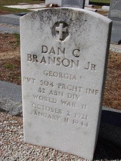 Pvt Daniel C. Branson, Jr