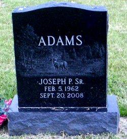 Joseph P Adams, Sr