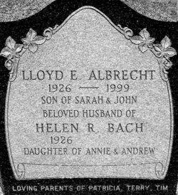 Lloyd E. Albrecht