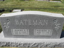Maurine <i>Robinson</i> Bateman