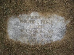 Lieut Bernard Lawrence Pierce