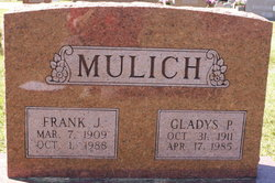 Frank J Mulich