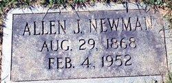 Allen James Newman