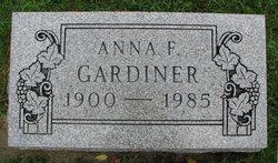 Anna F Gardiner