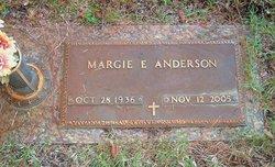 Margie E Anderson