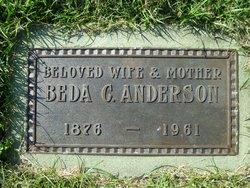 Beda Charlotta <i>Erickson</i> Anderson