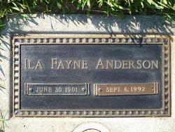 Ila Fayne <i>Thompson</i> Anderson