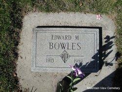 Edward Marion Bowles