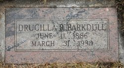 Drucilla Jane <i>Robins</i> Barkdull