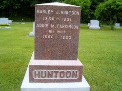 Addie M <i>Parkinson</i> Huntoon
