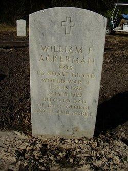 William F Ackerman