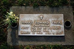 Harry Edward Frisk
