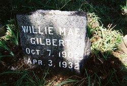 Willie Mae <i>Pitchford</i> Gilbert