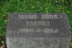 Marie <i>Sorg</i> Faeder
