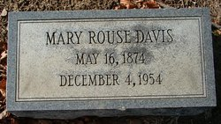 Mary <i>Rouse</i> Davis