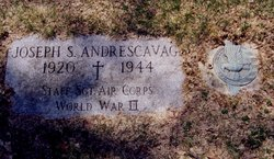 Sgt Joseph Stanley Andrescavage