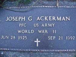 Joseph G Ackerman