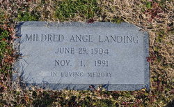 Mildred <i>Ange</i> Landing