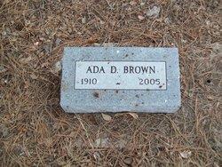 Ada D Brown