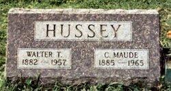 Clara Maude <i>Montz</i> Hussey