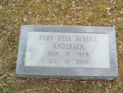 Ruby Dell <i>McNeill</i> Andersen