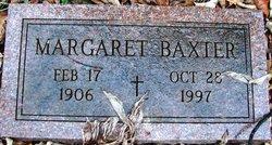 Margaret <i>Rogers</i> Baxter