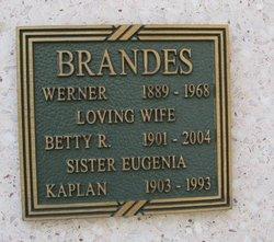 Betty R Brandes