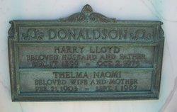 Harry Lloyd Donaldson