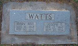 Joseph Thomas Watts