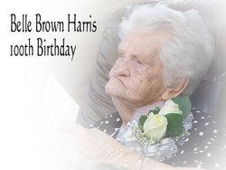 Belle <i>Brown</i> Harris