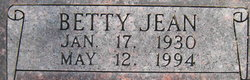 Betty Jean <i>Steed</i> Parsell