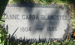 Anne <i>Capra</i> Blangsted