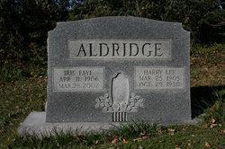 Harry Lee Aldridge